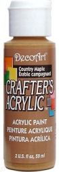 CRAFTERS ACRYLIC USA 59 ml - COUNTRY MAPLE