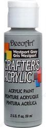 CRAFTERS ACRYLIC USA 59 ml - WESTPORT GREY