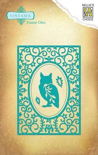 CARD Nellie Snellen ORNAMENT DIE - Орнаментни щанци за рязане и релеф  VIND027