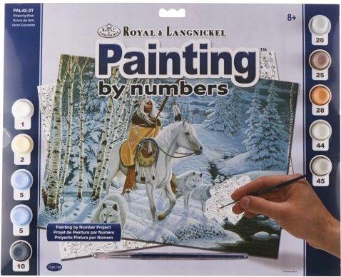R&L USA #  WISPERING WINDS - Рисуване по номера  А3- * PAL42