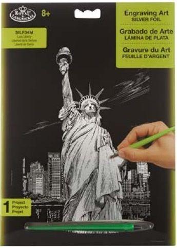 R&L,USA Engraving Art А4 - Картина за гравиране SILF34