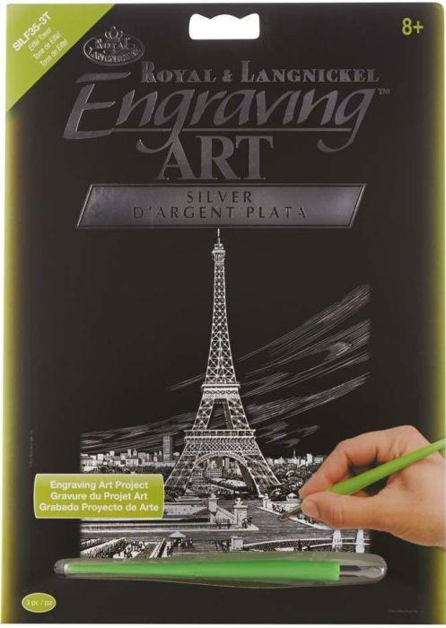 R&L,USA Engraving Art А4 - Картина за гравиране SILF35