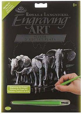 R&L,USA Engraving Art А4 - Картина за гравиране SILF40