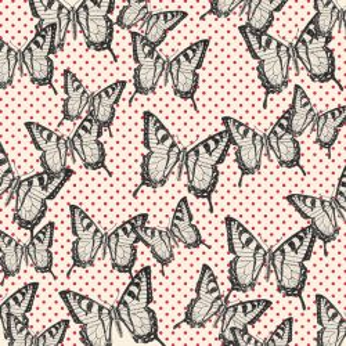 JENNI BOWLIN FLIGHT-BLACK ,USA 12 X 12  - Дизайнерски скрапбукинг хартия 30,5 х 30,5 см.