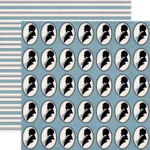 JENNI BOWLIN BE OUR GUEST HIS ,USA 12 X 12  - Дизайнерски скрапбукинг картон 30,5 х 30,5 см.