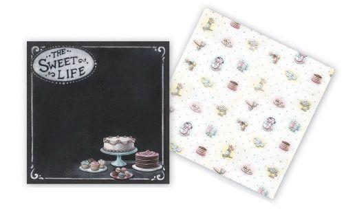 "MF USA SWEET LIFE 12X12""  - дизайнерски картон 30,5 х 30,5 см."