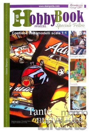 "HOBBY  Book No48  ""Работа с филц"" , Stamperia"