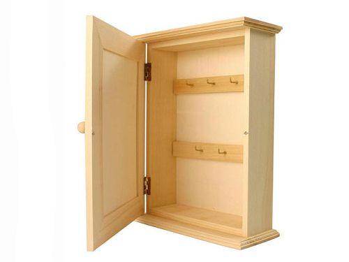 """BOX """" KEY HOLDER """" - Дървено шкафче за ключове"""