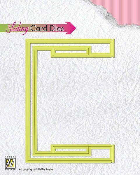 SLIDING CARD DIE - Basic slider-part SCD003