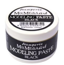 ANTICO Modeling paste, Stamperia - ART паста 150 мл. BLACK