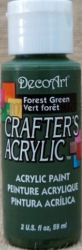 CRAFTERS ACRYLIC USA 59 ml - FOREST GREEN