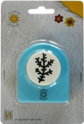 Nellie Snellen Jumbo Floral Punch - Флорален пънч FLP004 - 3 cm.