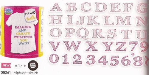 ALADINE STAMPO TEXTILE - Комплект печати+тампон за текстил 05261