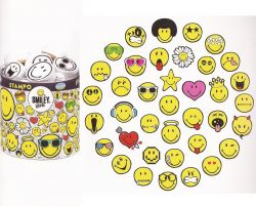 ALADINE STAMPO SMILEY - Комплект гумени печати 03201