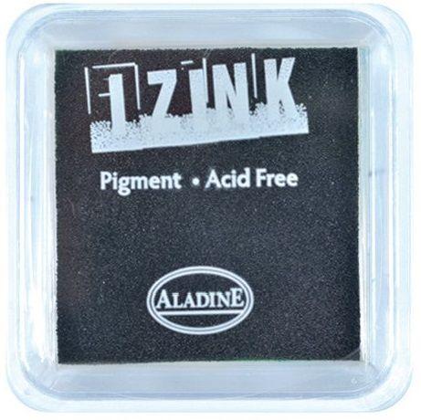 IZINK PAD PIGMENT - Среден тампон 4х4см - BLACK