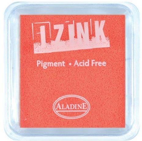 IZINK PAD PIGMENT - Среден тампон 4х4см - FLUO ORANGE