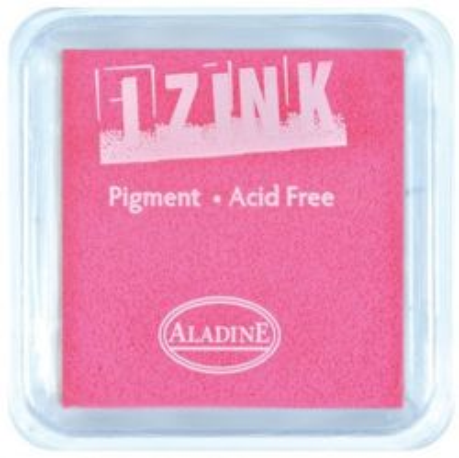 IZINK PAD PIGMENT - Среден тампон 4х4см  FLUO PINK