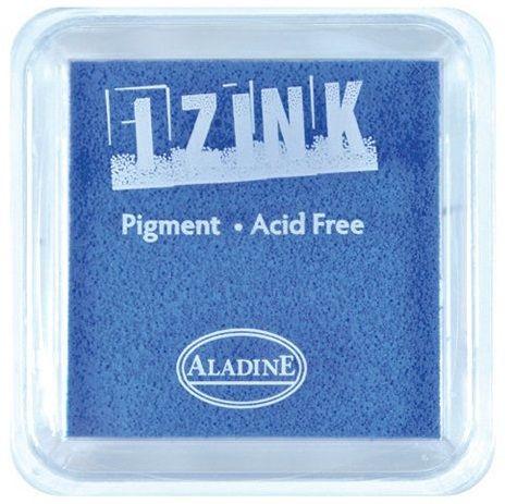 IZINK PAD PIGMENT - Среден тампон 4х4см - LIGHT BLUE