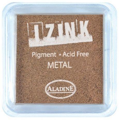 IZINK PAD PIGMENT - Среден тампон 4х4см - METAL COPPER