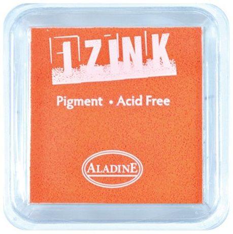 IZINK PAD PIGMENT - Среден тампон 4х4см - ORANGE
