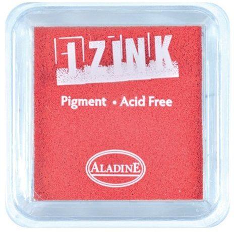 IZINK PAD PIGMENT - Среден тампон 4х4см - RED