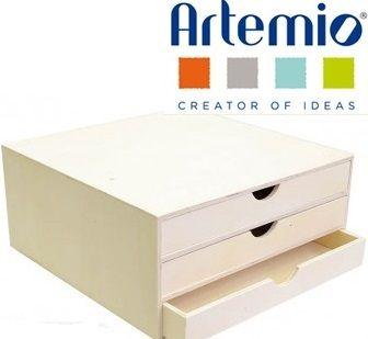 Artemio  CASE BUREAU  - Шкафче за бюро с  3 бр.чекмеджета
