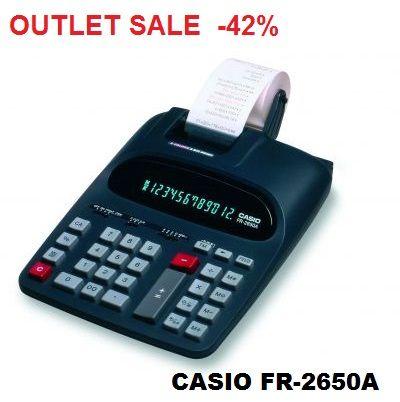 CASIO FR-2650A - Счетоводен принтерен калкулатор