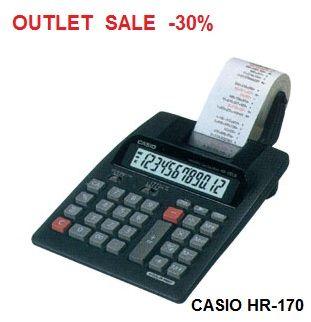 CASIO  HR-170 - Принтерен калкулатор