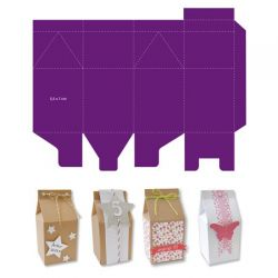 BOX TOGA DIE # MILK CARTON - Щанцa за изрязване 55x70 mm. - за A4