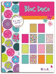 BLOC DECO SENTIMENTS -  Дизайн блок 28sheet, 15X20