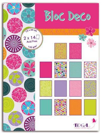 BLOC DECO SENTIMENTS -  Дизайн блок 28sheet, 15X20