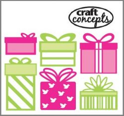 GIFTS CRAFT CONCEPTS Die   - Шаблони за рязане и ембос