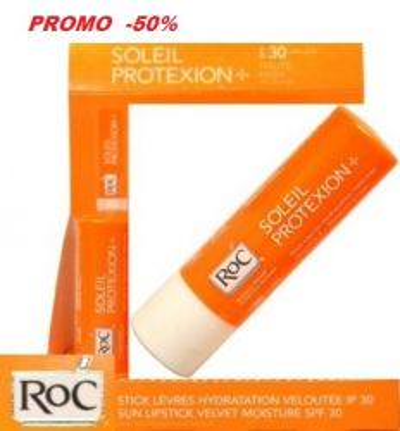 RoC Soleil Protexion+ Sun Lipstick SPF 30 4.9g - слънцезащитен балсам за устни