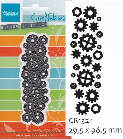 Marianne Design -  шаблони за рязане и ембос CR1324