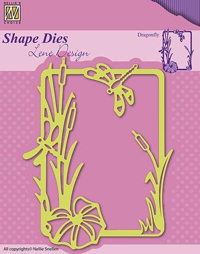 Lene Design DIES - Фигурална щанца за рязане и релеф, SDL020