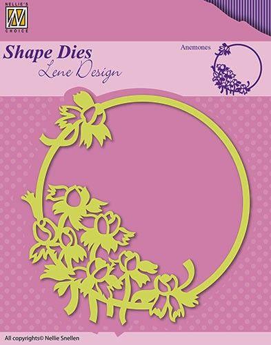 FRAME Lene Design DIES - Фигурална щанца за рязане и релеф,  SDL015