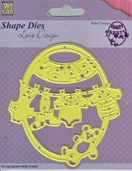 BABY Lene Design DIES - Фигурална щанца за рязане и релеф,. SDL012