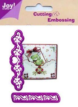 JOY Crafts -Щанци за рязане и ембос 2бр 6002/0011