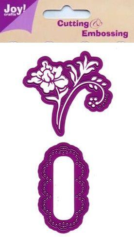 JOY Crafts -Щанца за рязане и ембос 2бр - 6002/0033