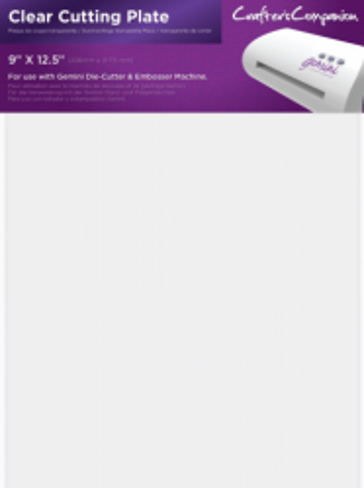 Machine Plate - Clear Cutting - A4 резервна подложка за рязане за eBosser & Gemini