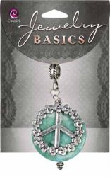 JEWELLERY BASICS USA  - ACCENT  PEACE CLUSTER 4 x 4.5 cm