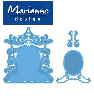 Marianne Design - Шаблон за рязане и ембосLR0277