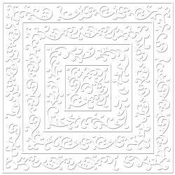 BBP, USA Embossed  30.5x30.5см - CHABBY CHIC