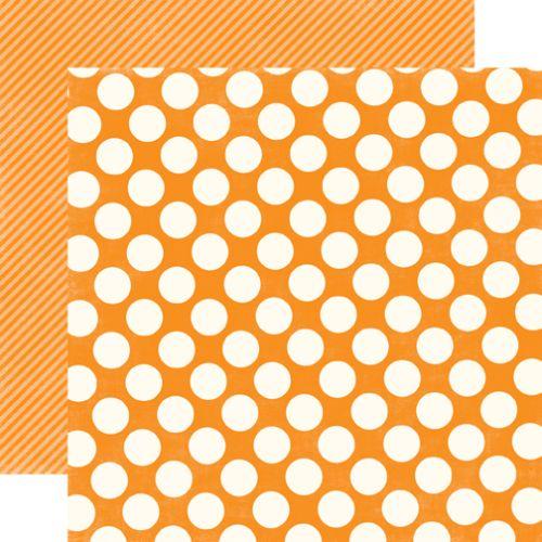MANGO LARGE DOT - Дизайнерски скрапбукинг картон 30,5 х 30,5 см.