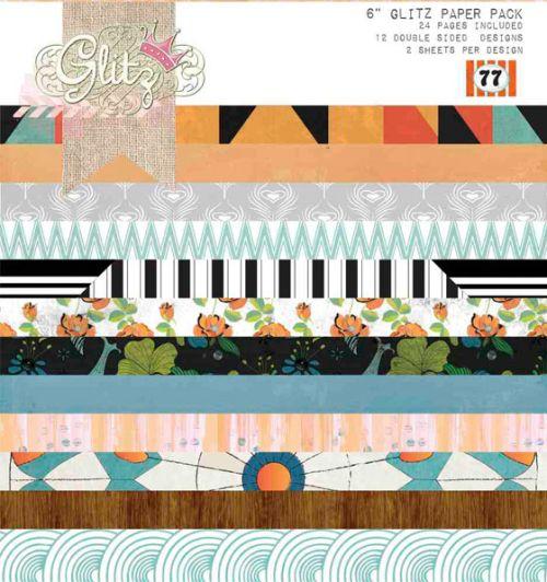 GLITZ USA  # 77 Pad - Дизайн блок 36 бр.