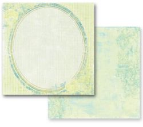 PRIMA ROMANCE ,USA 12 X 12  - Дизайнерски скрапбукинг картон 30,5 х 30,5 см.
