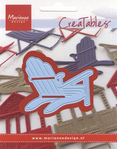CHAIR Marianne Design - Шаблон за рязане и ембос LR0424