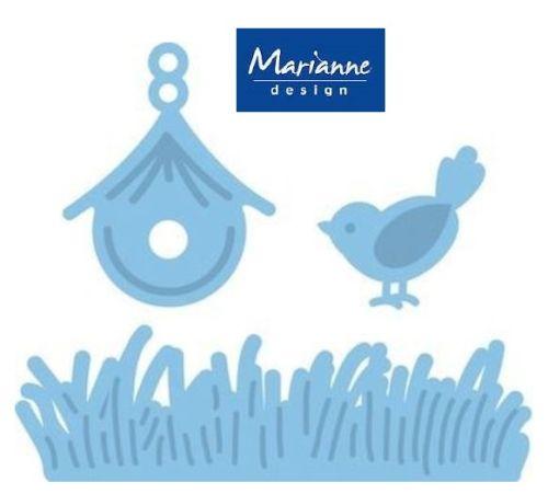 Marianne Design - Шаблон за рязане и ембос LR0204
