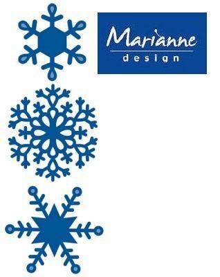 Marianne Design - Шаблони за рязане и ембос LR0125