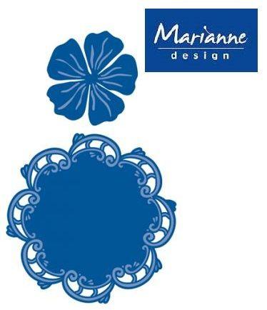 Marianne Design - Шаблони за рязане и ембос LR0168